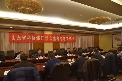 山东省科协海洋学会集群专题工作会在青召开