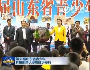 第31届山东省青少年科技创新大赛在临沂举行